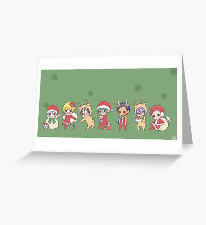 Kuroko no Basuke Xmas Time Greeting Card