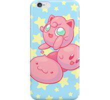 Pink Puff Trio iPhone Case/Skin
