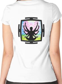 Beholder_ANTAR_PRAVAS_2014_REMIX Women's Fitted Scoop T-Shirt