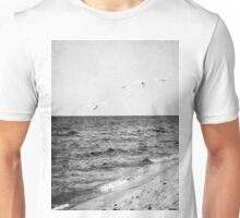 Lake Michigan Seagulls Unisex T-Shirt