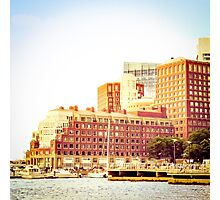 Boston Waterfront Photographic Print