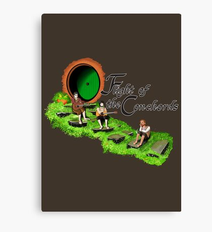 Fellowship of the Conchords Canvas Print