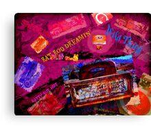 Rat Rod Dreaming Canvas Print