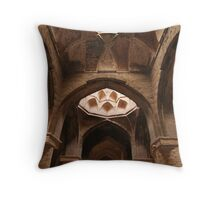 Brick Vaults, Friday Mosque, Isfahan Throw Pillow