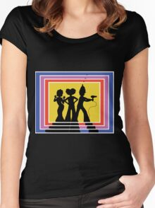 Priscilla's Angels Women's Fitted Scoop T-Shirt