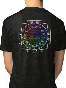 OM_SHRI_RAINBOW_MANTRA_2014 Tri-blend T-Shirt