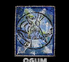 Ogum, Orixa of Iron by Ginga & Helen Dos Santos