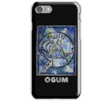 Ogum, Orixa of Iron iPhone Case/Skin
