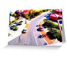 Bunbury Lookout - Tilt Shift Greeting Card