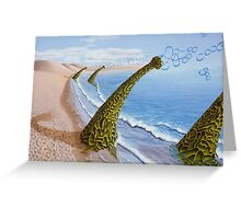Agaricia bullio Greeting Card