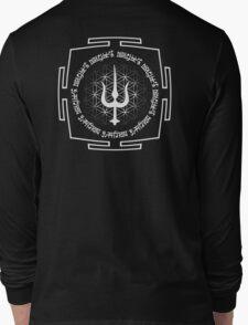 SHIVA_TRIDENT_MANTRA_2014 Long Sleeve T-Shirt