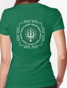 SHIVA_TRIDENT_MANTRA_2014 Womens Fitted T-Shirt