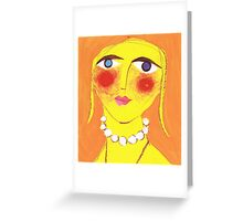 Bodacious Betty Greeting Card