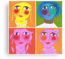 Medley of Maidens Canvas Print