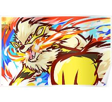 Shiny Arcanine | Fire Fang Poster