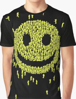 Happy Crowd Graphic T-Shirt