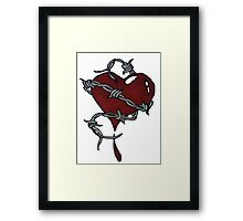Protected Heart. Framed Print