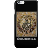 Orunmila, Orixa of divination iPhone Case/Skin