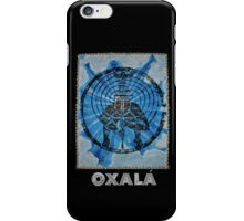 Oxalá, Orixa of the mind and heavens iPhone Case/Skin