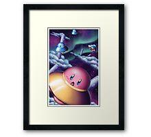 UFO Kirby Framed Print