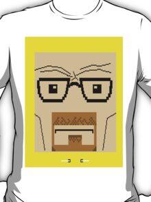 Breaking Bad Walter White Pixel Art T-Shirt