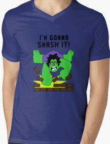 Smash-It Banner Mens V-Neck T-Shirt