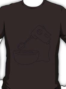 Mixing Bowl And Handmixer T-Shirt