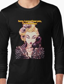 Lady Gaga Telephone Long Sleeve T-Shirt