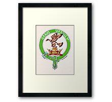 Clan Drummond Scottish Crest Framed Print