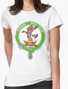 Clan Drummond Scottish Crest Womens Fitted T-Shirt