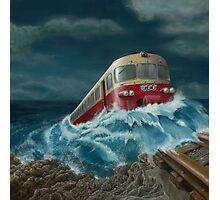 Trans European Express Photographic Print