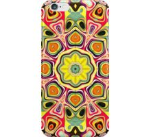 Colorful Concentric Abstract iPhone Case/Skin