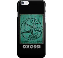Oxossi, Orixa of the hunt iPhone Case/Skin