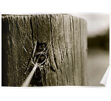 Fence Post Poster