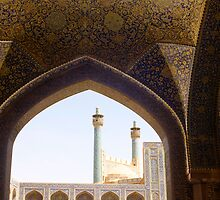 Imam Mosque, Isfahan, Iran by Jane McDougall