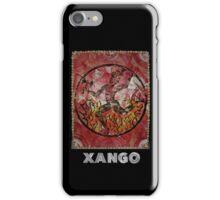 Xango, Orixa of fire and dance iPhone Case/Skin