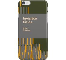 Invisible Cities / Italo Calvino iPhone Case/Skin