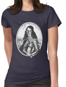dead pirat smiling Womens Fitted T-Shirt