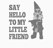 Say Hello To My Little Friend Scarface Gnome Men's Baseball ¾ T-Shirt