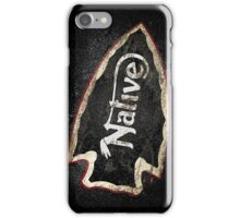 NATIVE —ASPHALT iPhone Case/Skin
