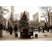 The Maestro Of Madison Square Park Photographic Print