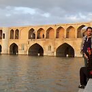 Bridge of 33 Arches, Esfahan, Iran by Jane McDougall