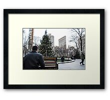 Rockin Around the Christmas Tree Framed Print