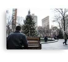 Rockin Around the Christmas Tree Canvas Print