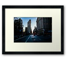 5th Avenue Heartache?  Framed Print