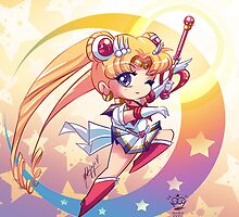Chibi Super Sailor Moon by MakoFufu