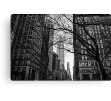 There's No Hiding in the City Canvas Print