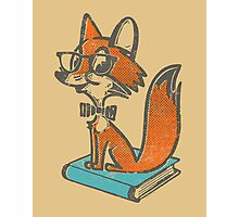 Fox Librarian Photographic Print