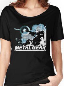 Metal Gear Women's Relaxed Fit T-Shirt