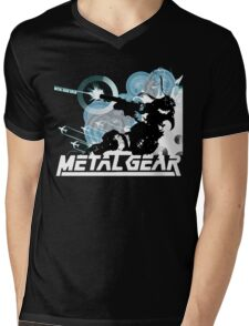 Metal Gear Mens V-Neck T-Shirt